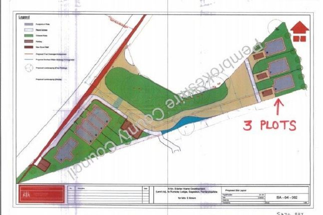 Property for sale in Hays Lane, Sageston, Tenby, Pembrokeshire.