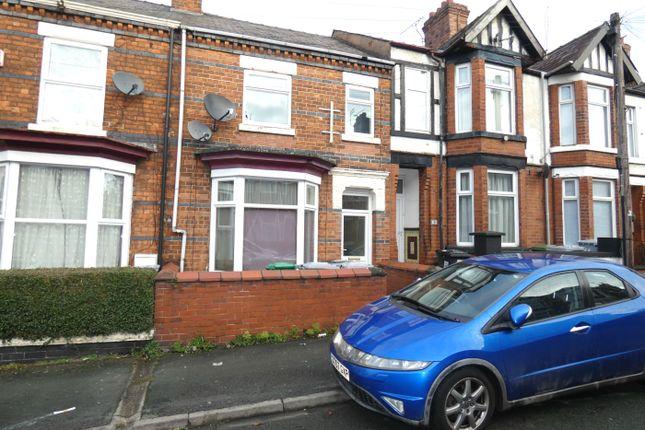 Thumbnail Property to rent in Samuel Street, Crewe
