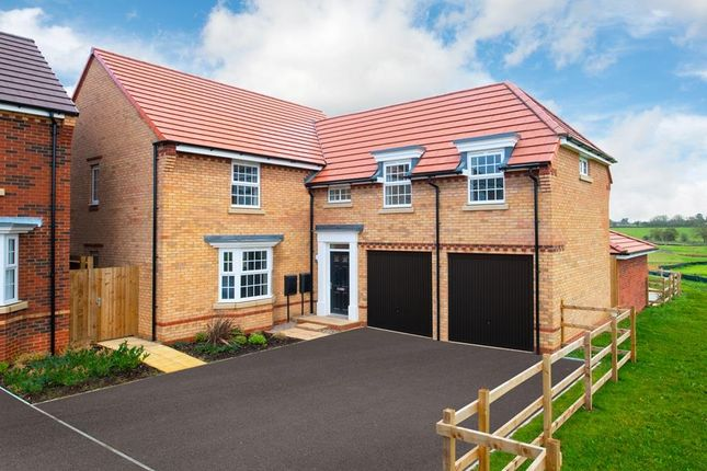 "Thumbnail Detached house for sale in ""Oulton"" at Carters Lane, Kiln Farm, Milton Keynes"