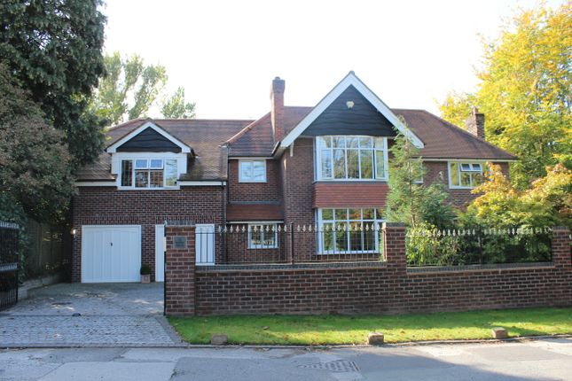 Thumbnail Detached house to rent in Torkington Road, Wilmslow