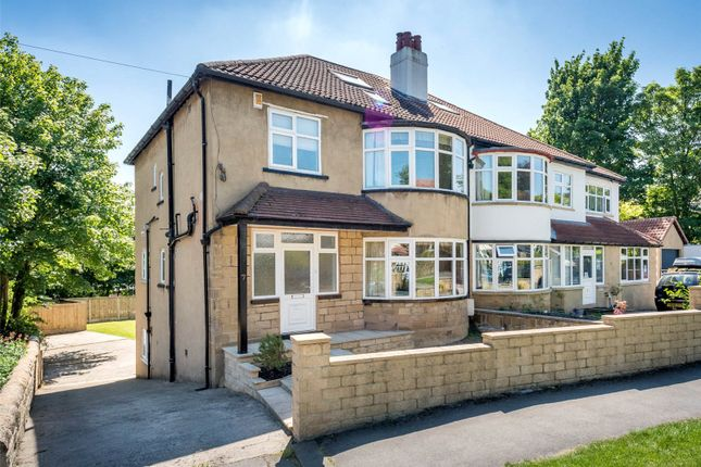 Thumbnail Semi-detached house to rent in Fitzroy Drive, Roundhay, Leeds, West Yorkshire