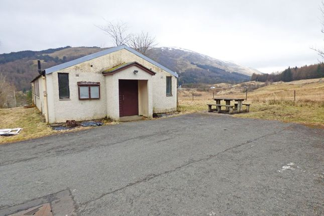Thumbnail Commercial property for sale in Tyndrum, Crianlarich