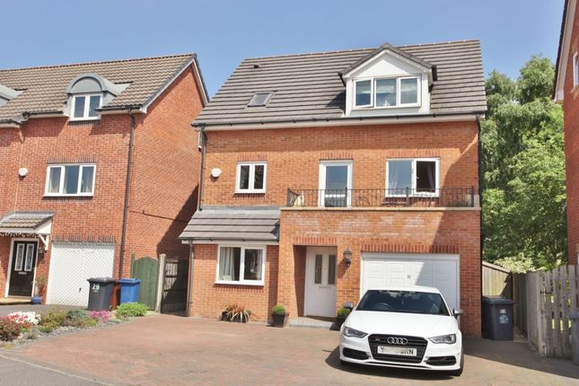 Thumbnail Detached house for sale in Haverhill Grove, Wombwell, Barnsley