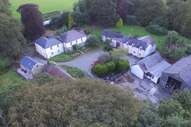 Thumbnail Equestrian property for sale in Llandysul, Carmarthenshire