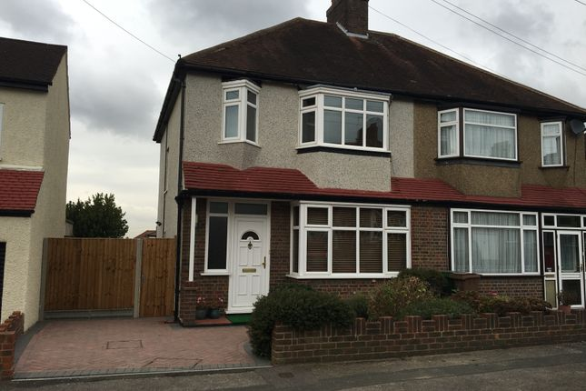 Thumbnail Semi-detached house to rent in Fromondes Road, Cheam