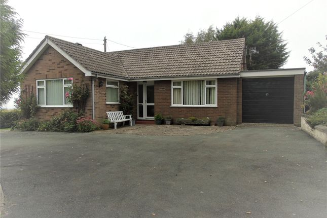 Thumbnail Bungalow for sale in Forden, Welshpool, Powys