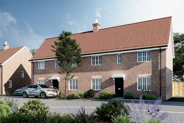 Semi-detached house for sale in Swabey Lane, Cranfield, Bedfordshire