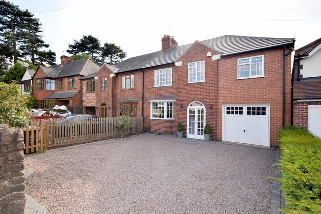 Thumbnail Semi-detached house for sale in Wood Lane, Quorn, Loughborough