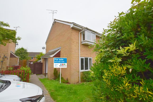 Thumbnail End terrace house for sale in Boydell Close, Shaw, Swindon, Wiltshire
