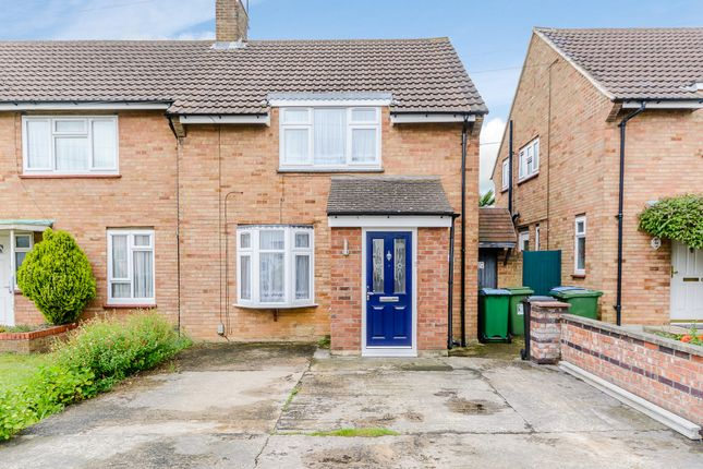 Thumbnail Semi-detached house for sale in Queenswood Crescent, Watford
