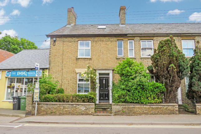 3 bed end terrace house for sale in High Street, Lakenheath, Brandon IP27