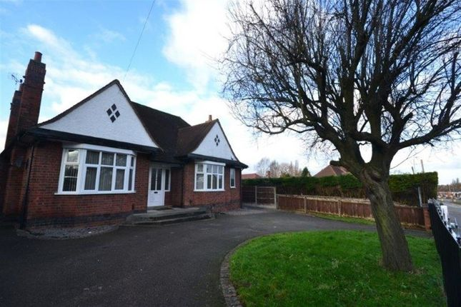 Thumbnail Bungalow to rent in Leicester Road, Wigston, Leicester