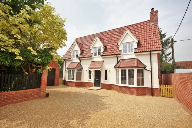 Thumbnail Detached house for sale in London Road, Capel St Mary, Ipswich, Suffolk