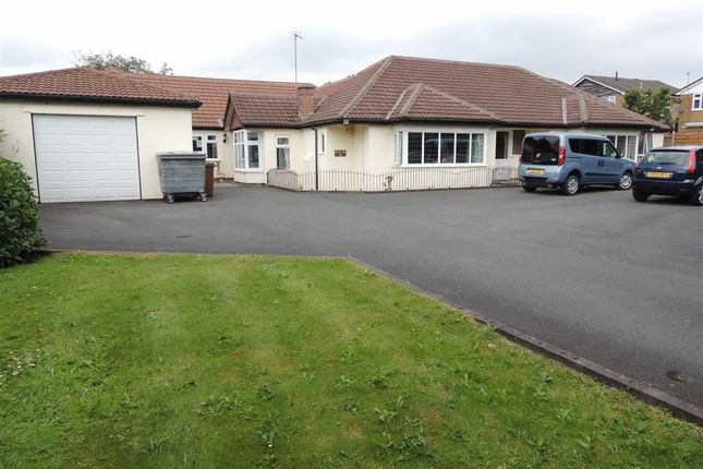 Thumbnail Detached bungalow for sale in Chester Road, Hazel Grove, Stockport