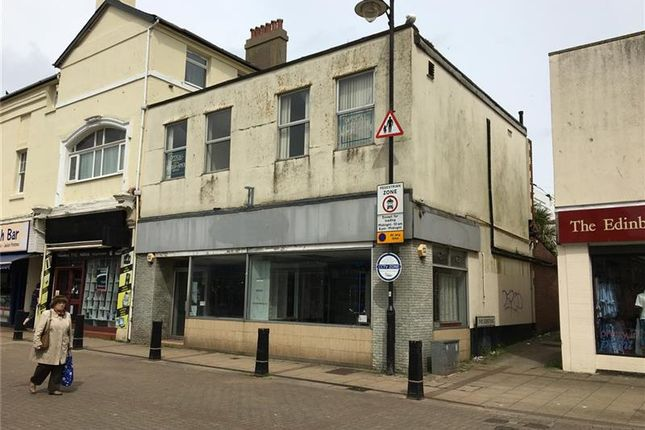 Thumbnail Retail premises to let in 7-9, Victoria Street, Paignton, Devon, UK