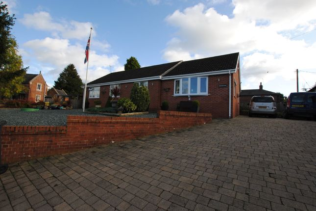Thumbnail Detached bungalow for sale in Nantwich Road, Woore, Crewe