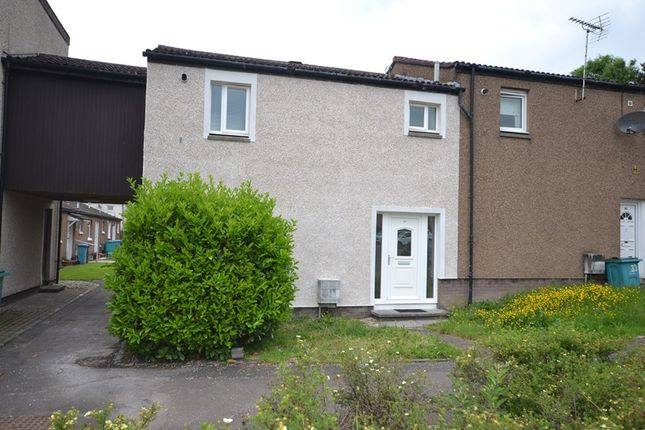 Thumbnail End terrace house for sale in Lilac Court, Cumbernauld