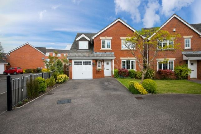 Thumbnail Detached house for sale in Brigantine Drive, Newport, Gwent .
