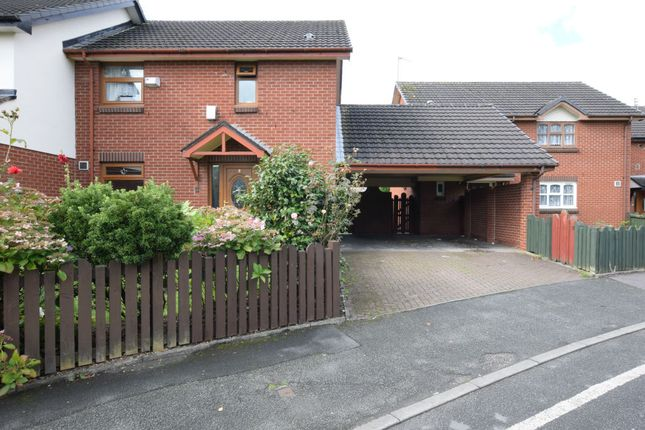 Thumbnail Semi-detached house for sale in Culmington Close, Manchester, Greater Manchester