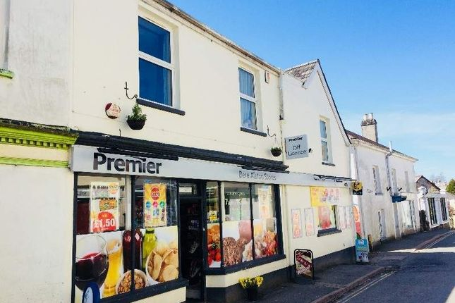 Thumbnail Retail premises for sale in Bere Alston, Devon
