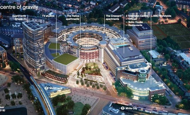Thumbnail Property for sale in Bbc Television Centre, Wood Lane, London