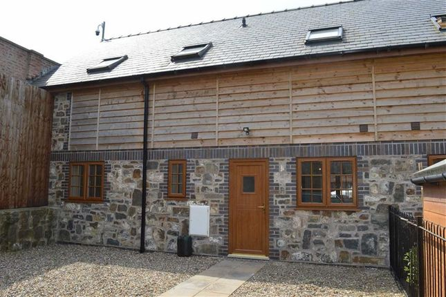 Thumbnail Semi-detached house to rent in Gernant, Llanidloes Road, Llanidloes Road, Newtown, Powys