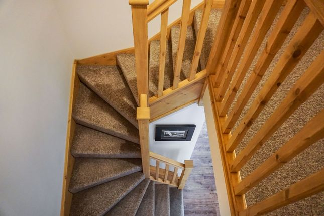 Staircase of Peterkin Place, Lossiemouth IV31