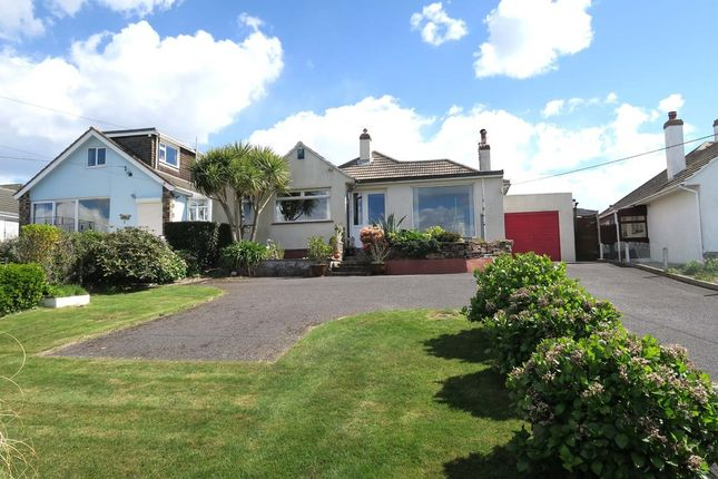 Thumbnail Detached bungalow for sale in Renny Road, Heybrook Bay, Plymouth