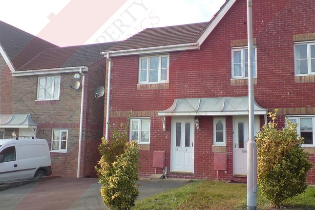 Thumbnail Semi-detached house to rent in Heol Barcud, Birchgrove, Swansea.