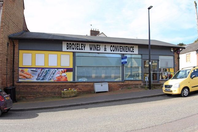 Thumbnail Commercial property for sale in High Street, Broseley