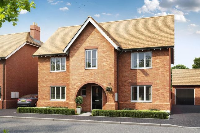 "Thumbnail Detached house for sale in ""Winstone"" at Gimson Crescent, Tadpole Garden Village, Swindon"