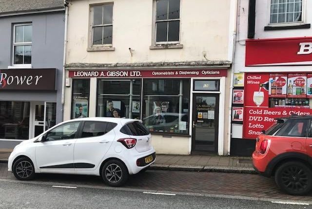 Thumbnail Retail premises for sale in 125 Fore Street, Saltash, Cornwall