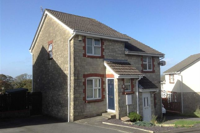 Thumbnail Semi-detached house for sale in Heol Waun Wen, Llangyfelach, Swansea