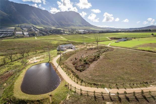 Thumbnail Farmhouse for sale in Portion 45 Farm 587, Upper Hemel-En-Aarde Valley, Hermanus, Western Cape, 7600