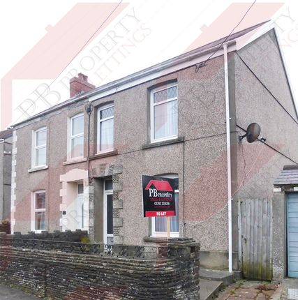 Thumbnail End terrace house to rent in Swansea Road, Pontlliw, Swansea