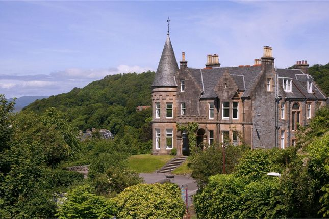 Thumbnail Detached house for sale in Greystones, Dalriach Road, Oban, Argyll And Bute