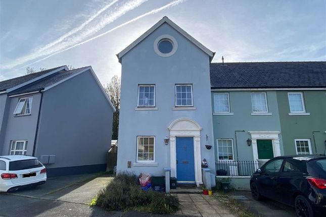 Thumbnail Town house for sale in Brookside Avenue, Johnston, Haverfordwest