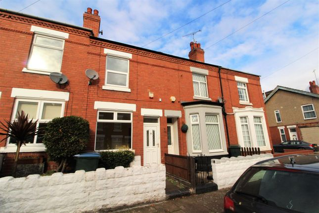 Thumbnail Terraced house to rent in Holmfield Road, Stoke, Coventry