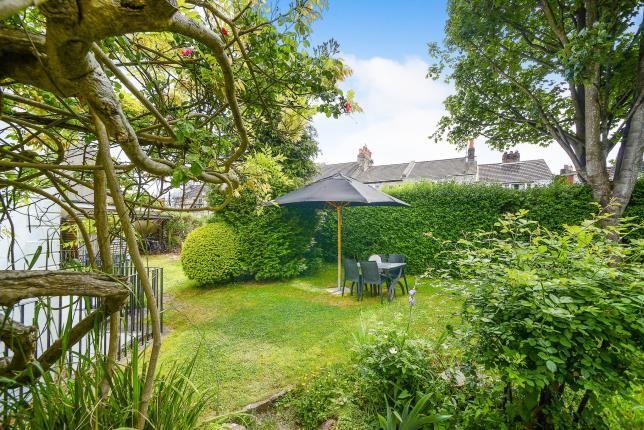 Communal Garden of York Villas, Brighton, East Sussex BN1