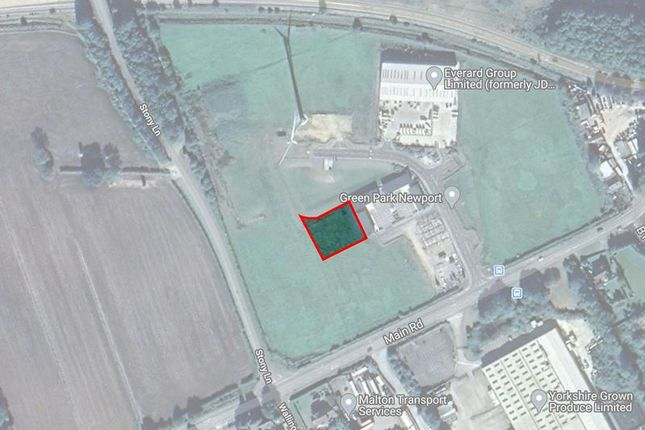 Thumbnail Land for sale in Junction 38 M62, Innovation Drive, Green Park, East Yorks