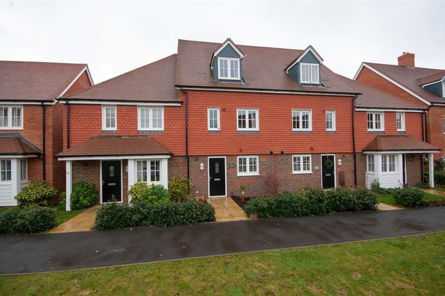 Thumbnail Terraced house to rent in Brookfield Drive, Horley, Surrey