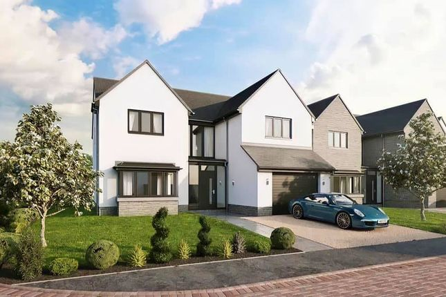 Thumbnail Detached house for sale in Plot 6, The Caerphilly, Gower Heights, Upper Killay, Swansea
