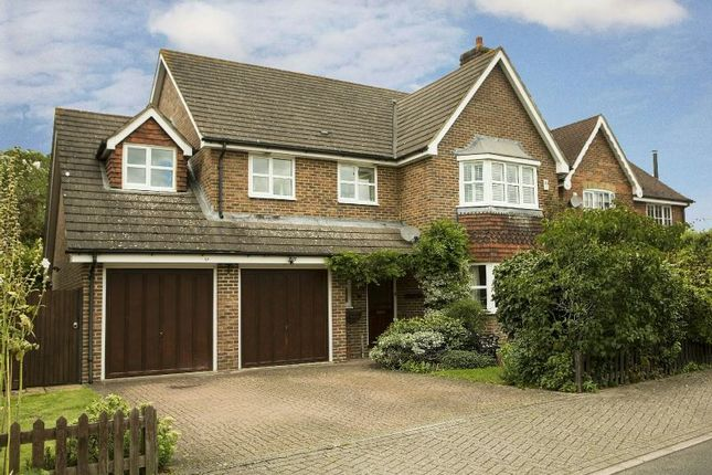 Thumbnail Detached house for sale in Curlys Way, Swallowfield, Reading