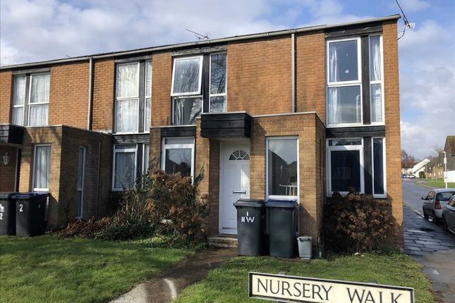 Thumbnail End terrace house to rent in Nursery Walk, Canterbury