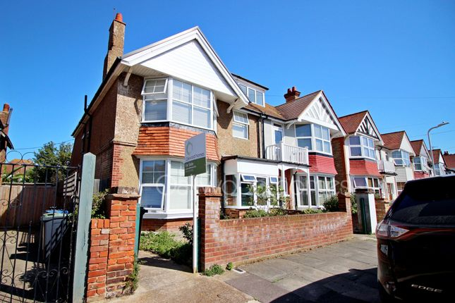 Thumbnail Semi-detached house for sale in Cliffe Avenue, Westbrook, Margate