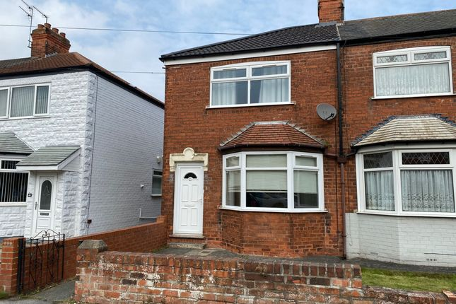 Thumbnail Terraced house to rent in Seaton Road, Hessle
