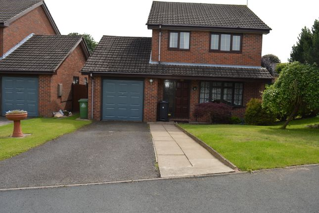 Thumbnail Detached house to rent in Blaizefield Close, Woore, Crewe