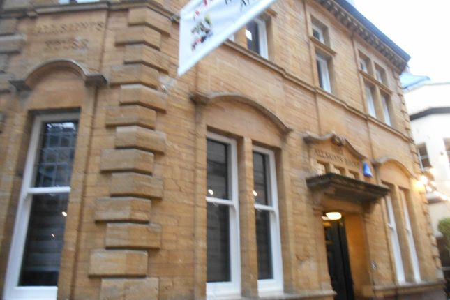 Thumbnail Town house to rent in All Saints Lane, Bristol