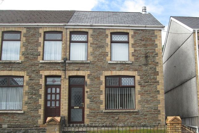 Thumbnail Semi-detached house for sale in Maesteg Road, Maesteg, Bridgend.