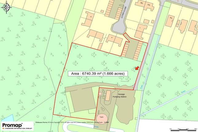 Thumbnail Land for sale in Otter Close, Poole